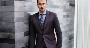 Модные мужские костюмы различных фасонов